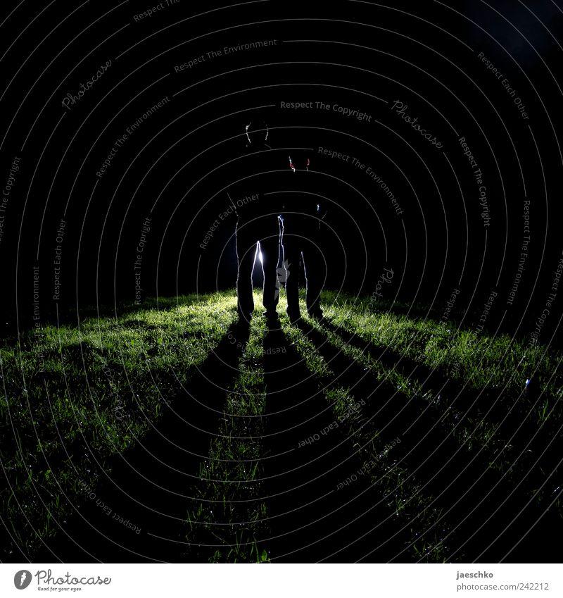 Human being Man Adults Dark Couple Dream Friendship Power Fear Exceptional Cool (slang) Threat Curiosity Lawn Creepy Partner