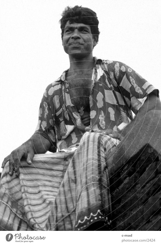 Mahout - Sri Lanka Man Asia mahout