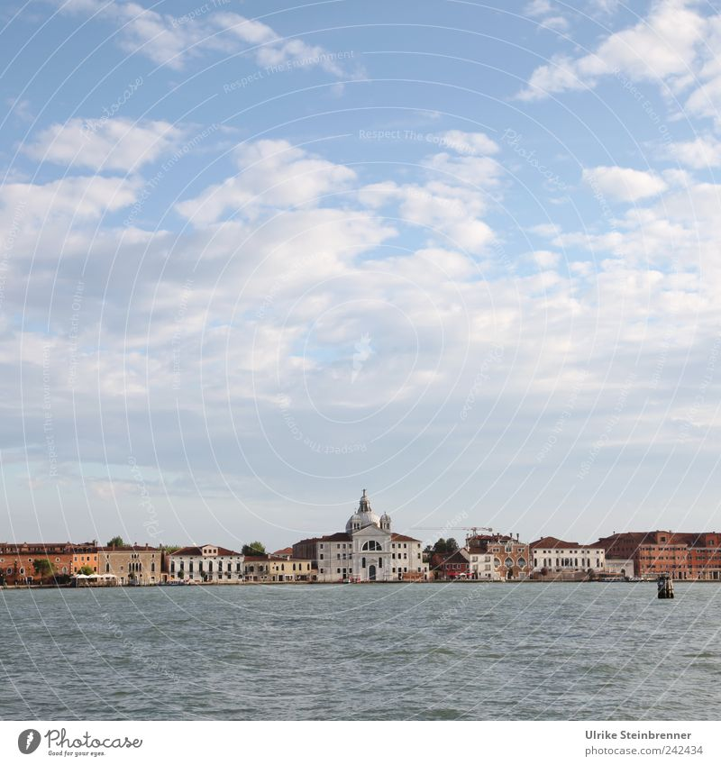 Sky Water Old Beautiful Vacation & Travel Summer Building Europe Travel photography Italy Skyline Beautiful weather Tourist Attraction Venice Famousness