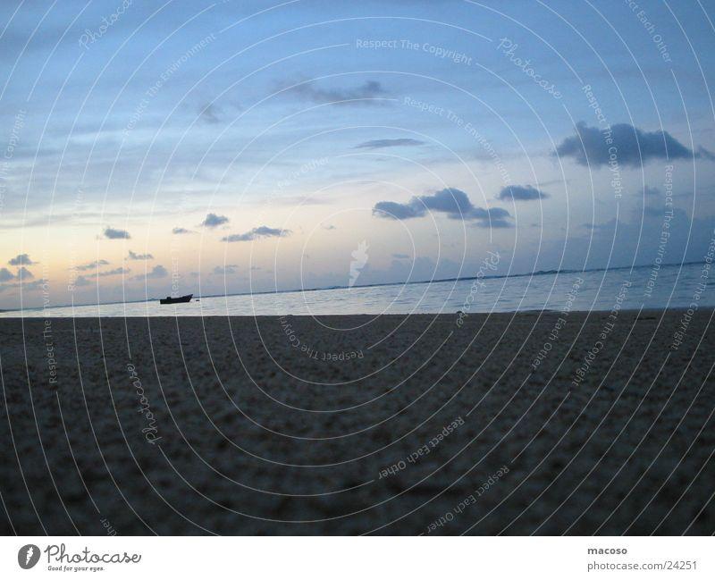 Sky Ocean Beach Calm Clouds Loneliness Sand Watercraft Romance Cuba