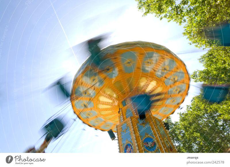 whiplash injury Lifestyle Style Joy Leisure and hobbies Carousel Chairoplane Rotate Exceptional Retro Speed Multicoloured Emotions Happiness Enthusiasm Euphoria