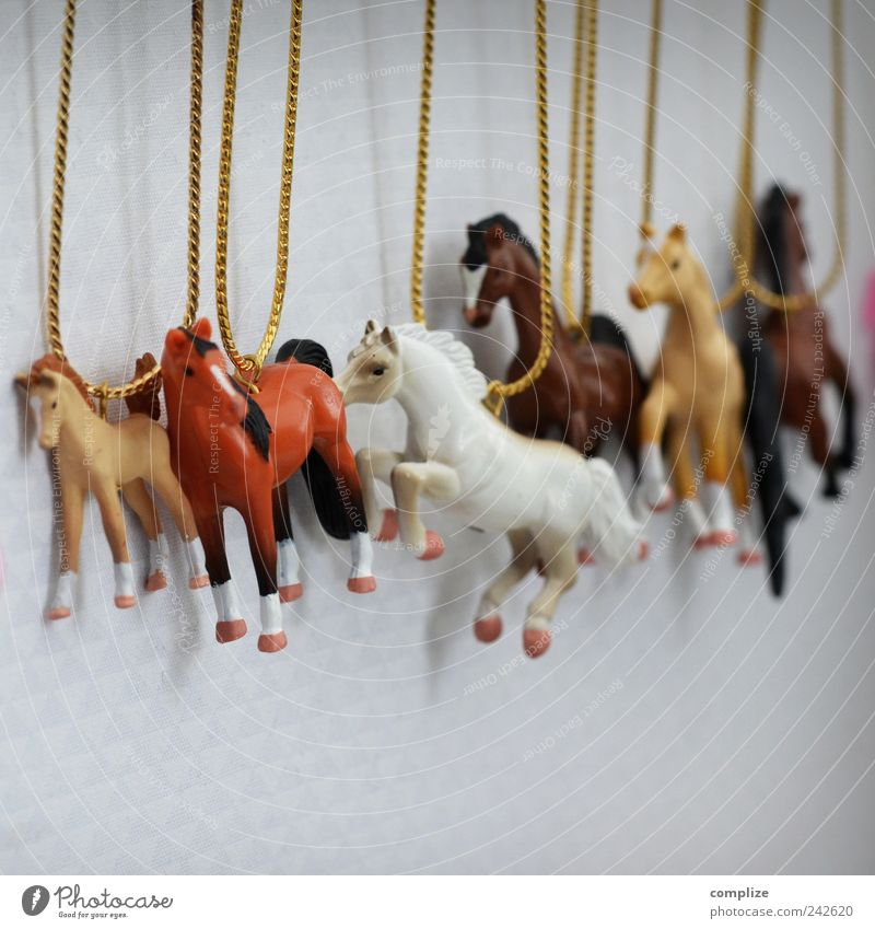 girls chain Style Design Beautiful Infancy Accessory Jewellery Animal Horse Group of animals To swing Bangs Colour photo