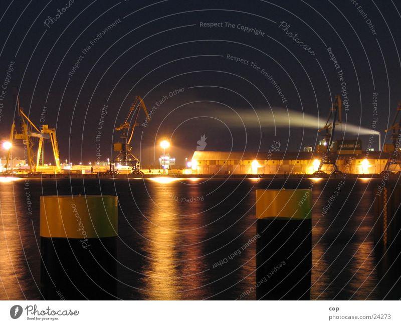 Water Harbour Warehouse Navigation Mecklenburg-Western Pomerania Wismar