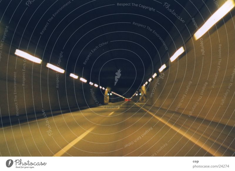 front in back out Tunnel Highway Narrow Transport Street