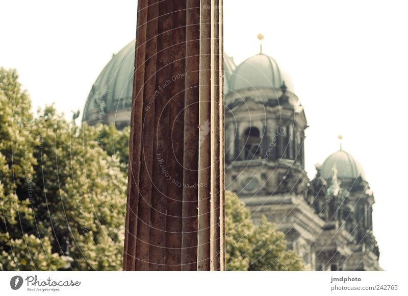 Berlin Cathedral Vacation & Travel Tourism Sightseeing City trip Capital city Manmade structures Tourist Attraction Landmark Monument Old Peaceful Caution Calm