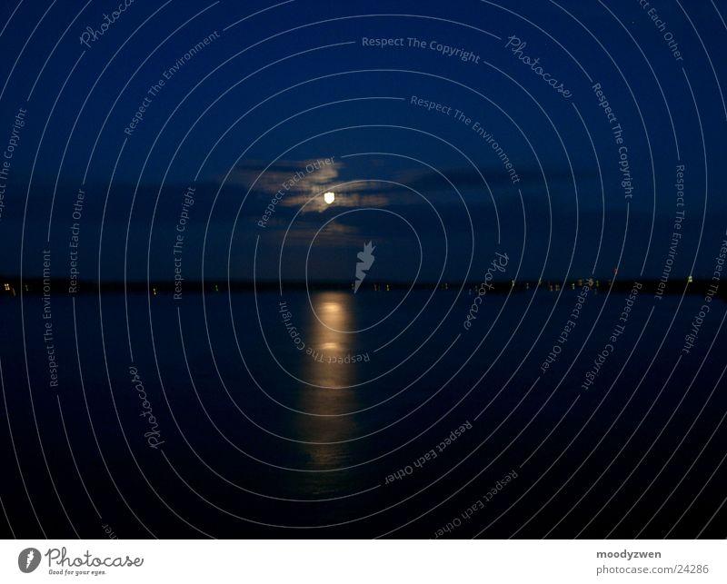 Sky Ocean Moon