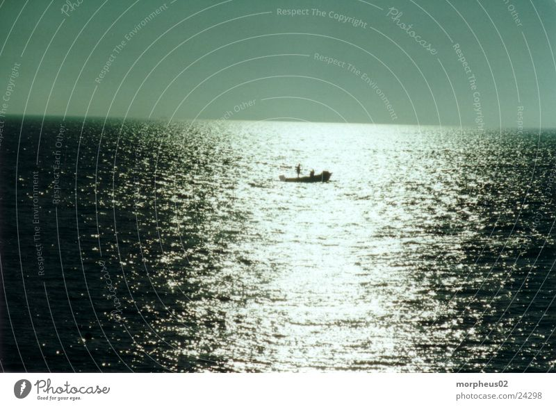 solitariness Reflection Ocean Captain Watercraft Shadow