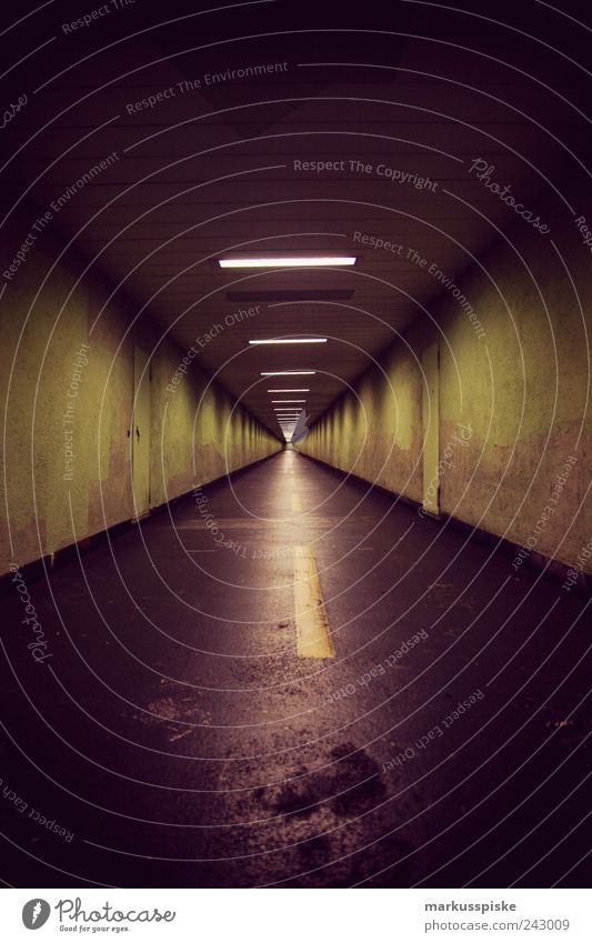underpass Style Design Tourism Zurich Switzerland Europe Downtown Deserted Tunnel Manmade structures Building Architecture Underpass Transport