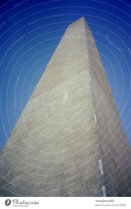 Architecture Large Might Tower Americas Monument Upward Landmark Column Vertical Famousness Tourist Attraction Monumental Washington