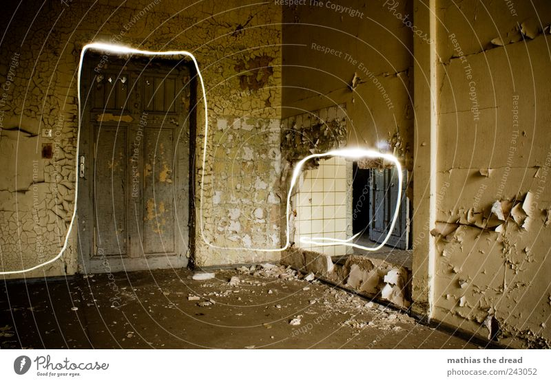 Old Beautiful Calm Dark Wall (building) Building Wall (barrier) Line Bright Door Dirty Esthetic Exceptional Illuminate Gloomy Uniqueness