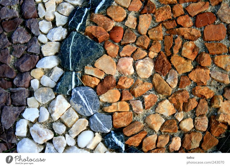 CountryType Art Work of art Nature Elements Earth Sand Garden Stone Line Build Multicoloured Yellow Violet Black White Creativity Colour photo Exterior shot