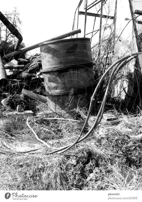 Sadness Industry Grief Gloomy Cable Factory Trash Storage Keg Territory Scrap metal Scrapyard