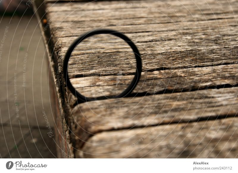 Black Wood Gray Stone Brown Metal Glass Large Concrete Circle Places Bench Stripe Wooden board Lens Magnifying glass