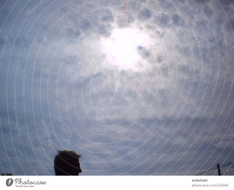 hole in the cloud Clouds Light Sky Light (Natural Phenomenon) Cover Weather Sun
