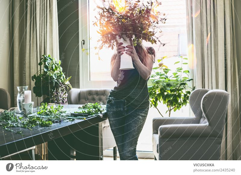 Woman Human being Nature Summer Plant Flower Window Adults Lifestyle Style Pink Living or residing Design Flat (apartment) Leisure and hobbies Body