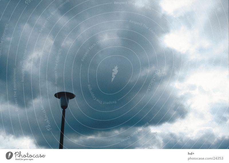 Clouds Dark Graffiti Threat Lantern Thunder and lightning Street lighting