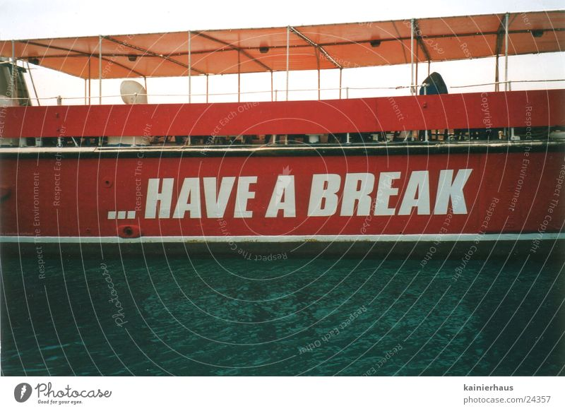 Water Watercraft Leisure and hobbies Advertising Irony Malta
