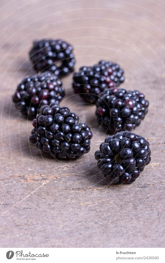blackberries Food Fruit Organic produce Kitchen Healthy To enjoy Blackberry Board Vitamin Berries Colour photo Interior shot Close-up Deserted