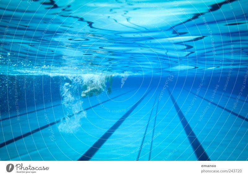 50m sheet metal tub Joy Swimming & Bathing Vacation & Travel Sports Fitness Sports Training Aquatics Sportsperson Dive Swimming pool Human being Woman Adults 1