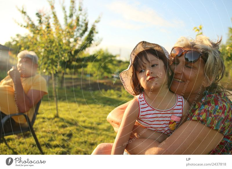 family portrait Parenting Education Human being Feminine Child Baby Female senior Woman Parents Adults Brothers and sisters Grandparents Senior citizen