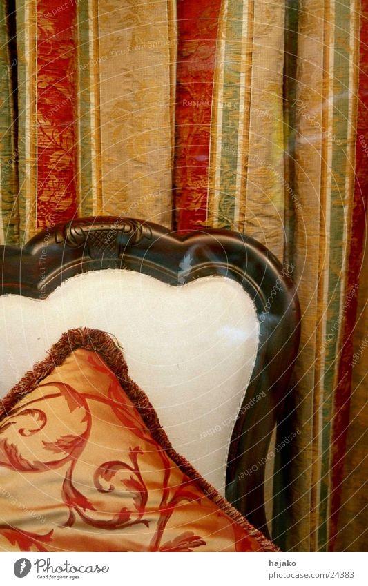Chair Living or residing Cloth Drape Ancient Cushion Silk