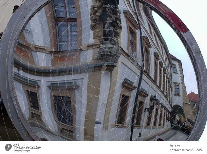 mirror house Mirror Housefront Prague Europe Distorted Architecture