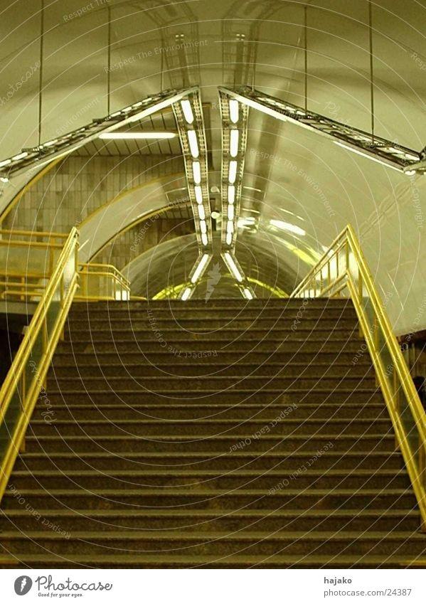 grasshopper Symmetry Transport Stairs Underground Light Empty