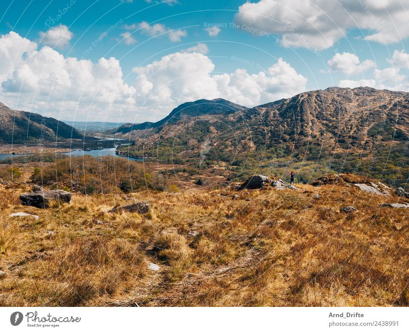 Ladies View - Ireland Vacation & Travel Tourism Trip Far-off places Summer vacation Sun Human being Feminine Woman Adults 1 Environment Landscape Sky Clouds