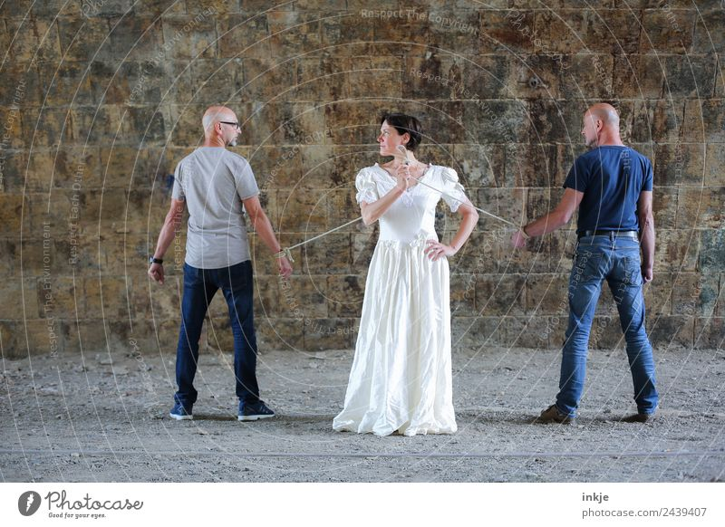 Woman Human being Man Lifestyle Adults Wall (building) Feminine Emotions Style Couple Wall (barrier) Exceptional Together Masculine Stand Authentic