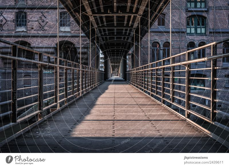 Old Beautiful House (Residential Structure) Calm Architecture Wood Building Germany Romance Bridge Historic Industry Hamburg Tourist Attraction Landmark
