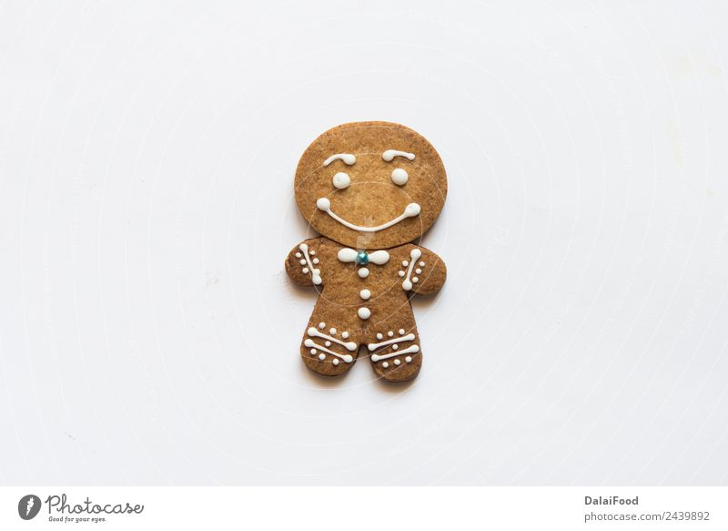 ginger beard cookies for christmas time Child White Joy Winter Happy Brown Decoration Culture Gift Herbs and spices Delicious Tradition Dessert Bread