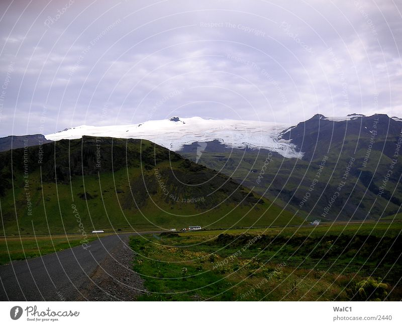 Nature Water Snow Ice Power Europe Energy industry Iceland Environmental protection Glacier National Park Untouched Vatnajökull glacier