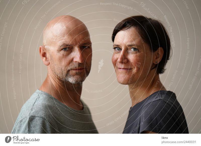 Woman Man Adults Couple Friendship