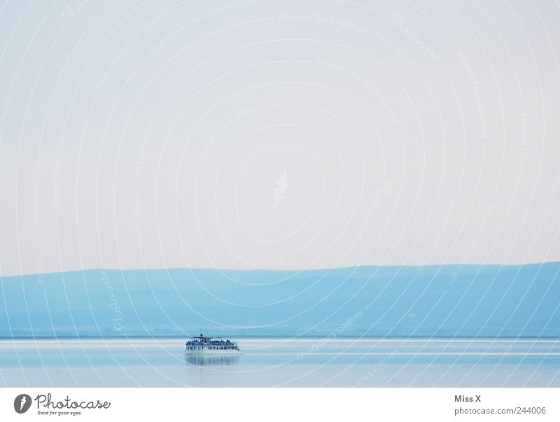 Water Ocean Blue Vacation & Travel Colour Lake Landscape Watercraft Trip Driving Tourism Swimming & Bathing Navigation Baltic Sea North Sea Dreary