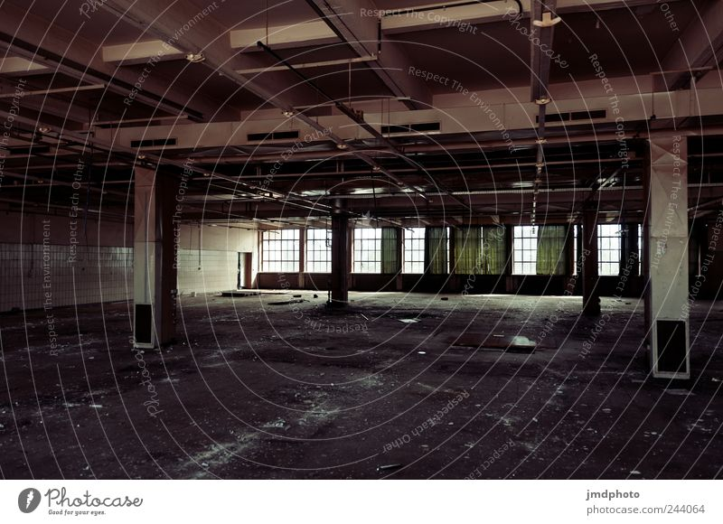 Old Calm Loneliness Window Building Fear Broken Transience End Manmade structures Factory Derelict Decline Destruction Workplace Competition