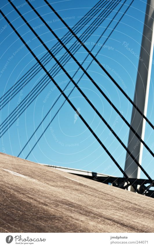 Tension Design Vacation & Travel Trip Summer Bridge Traffic infrastructure Firm Modern Joie de vivre (Vitality) Bravery Power Responsibility Stress Contentment