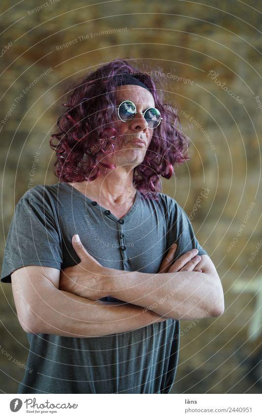 Man Cool (slang) Eyeglasses Cancelation Interlocked Reserved