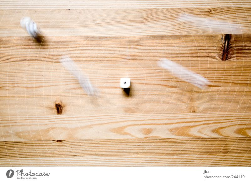 die Playing Crap game Dice Table Wood Movement Rotate Lie Speed Brown White Wood fiber Tabletop Texture of wood Structures and shapes Pastime Middle . 1 Branch