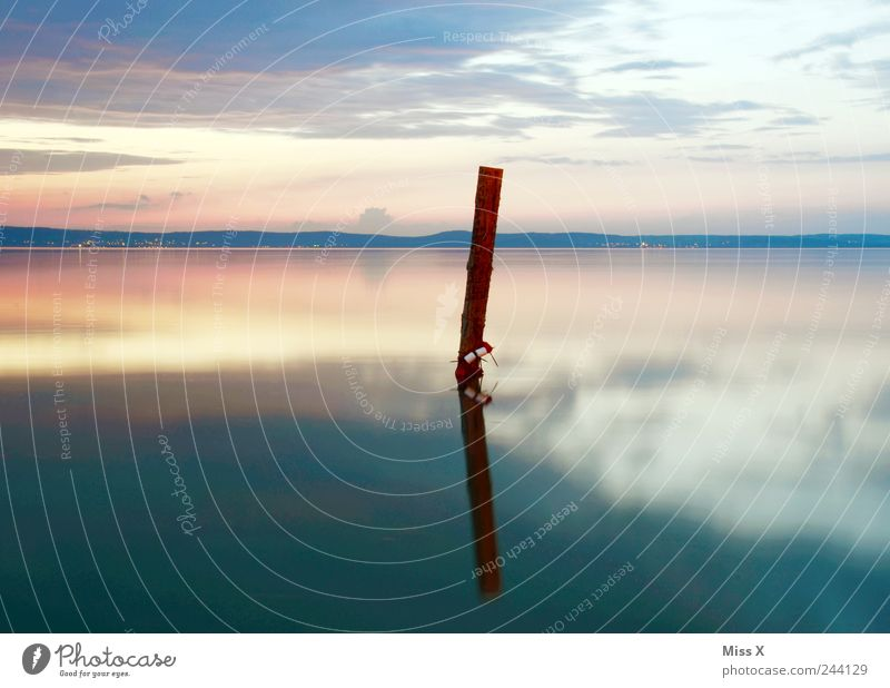 My BEST IMAGE 2011 Relaxation Calm Meditation Ocean Environment Landscape Sunrise Sunset Beautiful weather Lake Simple Moody Loneliness Pure Wooden stake Jetty