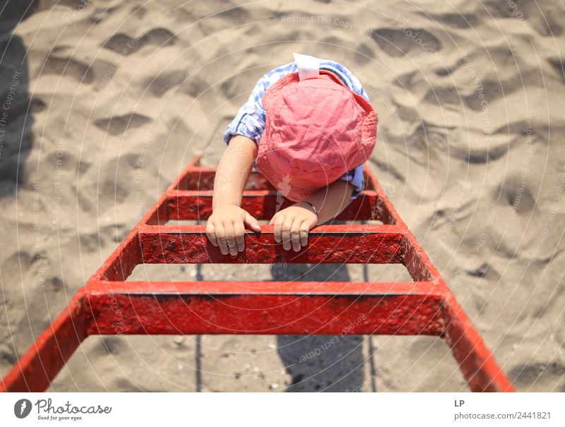 Red ladder Lifestyle Leisure and hobbies Playing Parenting Education Business SME Career Success To talk Human being Child Brothers and sisters Grandparents