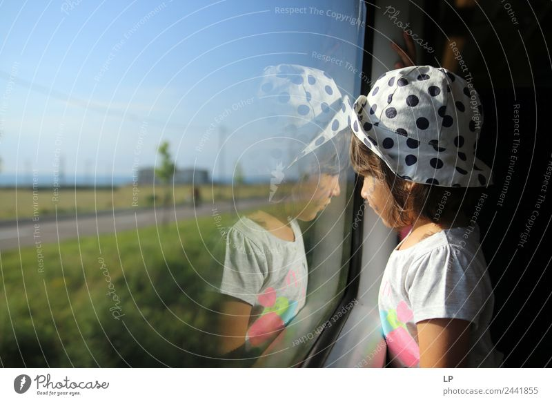 reflection Lifestyle Playing Vacation & Travel Tourism Trip Adventure Far-off places Sightseeing City trip Summer vacation Human being Child Parents Adults
