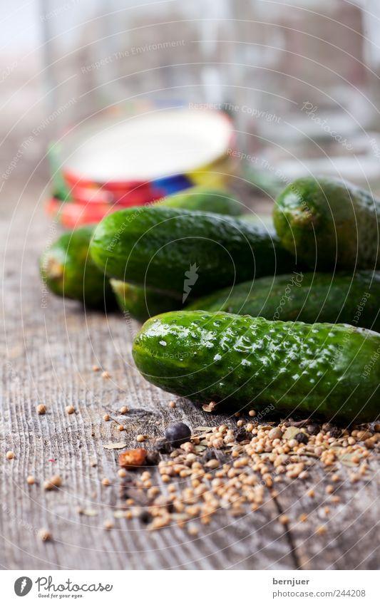 Green Wood Food Cooking & Baking Herbs and spices Vegetable Appetite Wooden board Diet Organic produce Bowl Vegetarian diet Cucumber Preserving jar Gherkin