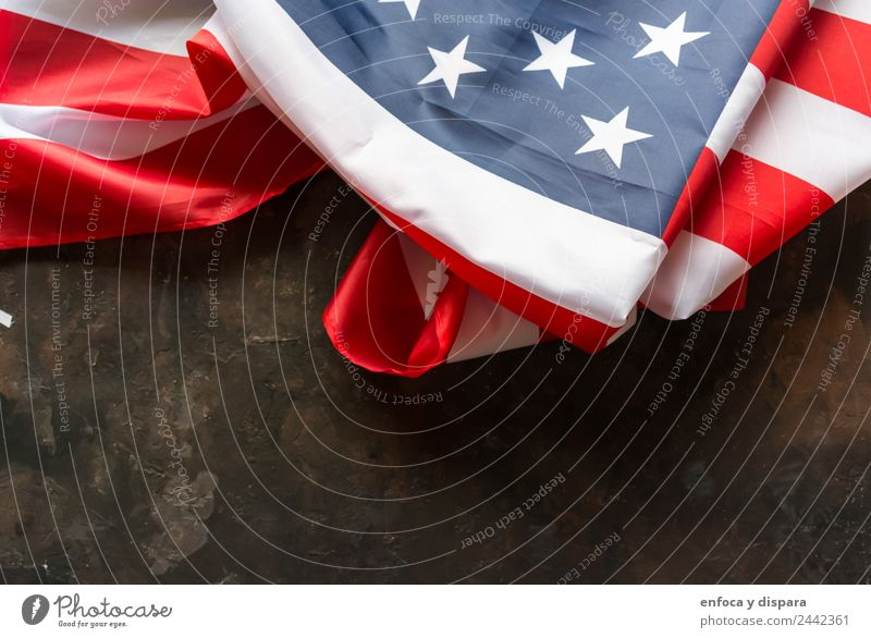 American flag Freedom Wind Sign Stripe Flag Town Blue Red White Protest Independence america background country Democracy July nation national patriot patriotic