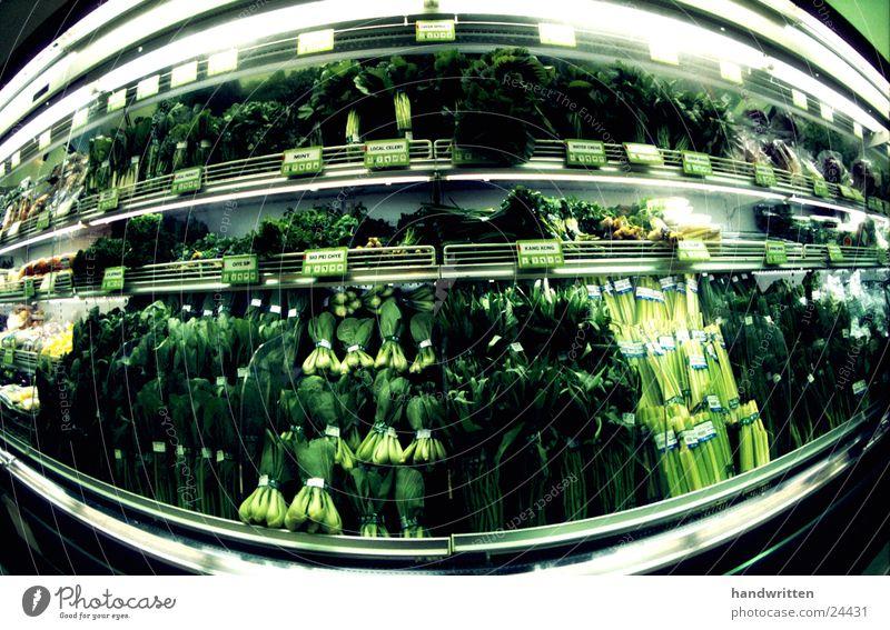 vegetarian Green Vegetarian diet Nutrition Fisheye Wide angle Supermarket Cold Healthy Vegetable