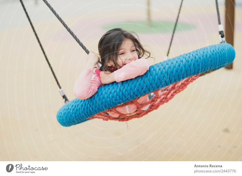 Playing girl Joy Happy Leisure and hobbies Child School Girl Infancy Youth (Young adults) 1 Human being 3 - 8 years Park Playground Sweater Jacket Tights