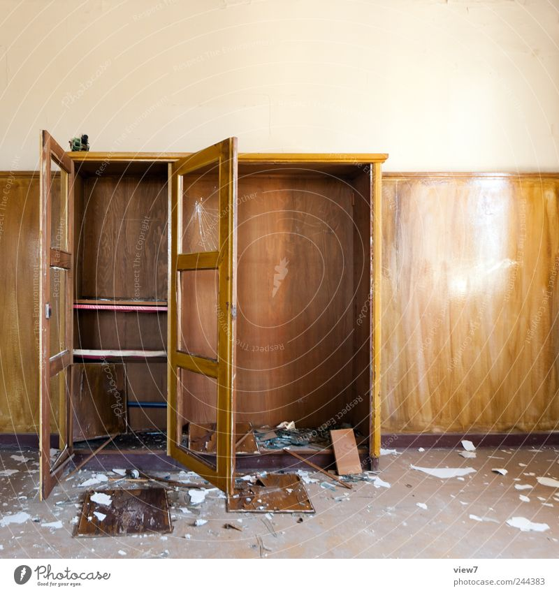 Old Far-off places Wood Office Sadness Brown Room Dirty Interior design Change Simple Transience Force Furniture Past Moving (to change residence)