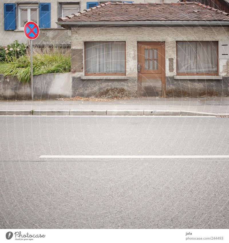 House (Residential Structure) Street Window Wall (building) Architecture Small Lanes & trails Wall (barrier) Building Door Stairs Gloomy Manmade structures