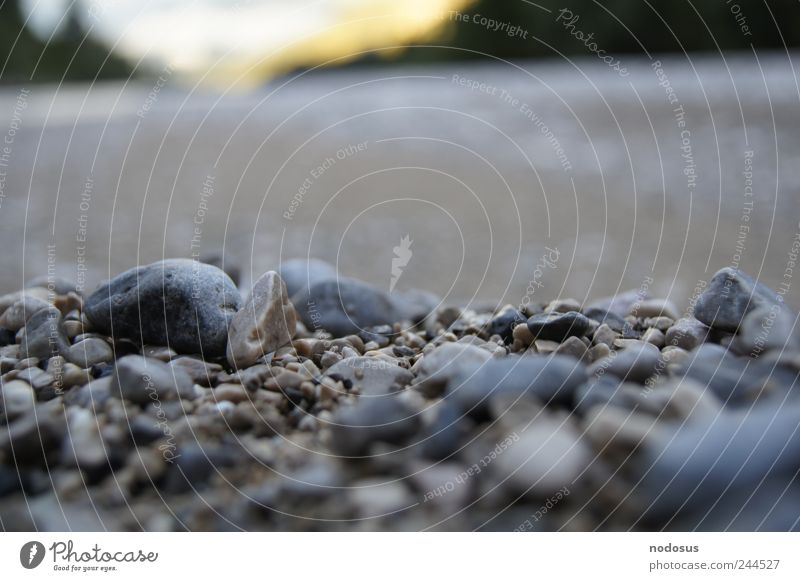 Ocean Calm Mountain Stone Sand Background picture River Round Alps Brook River bank Depth of field Gravel Pebble Minerals Isar