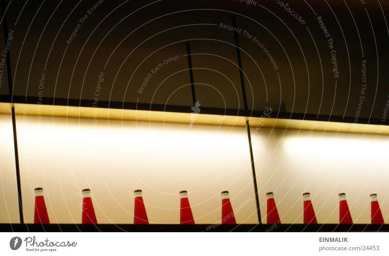 Red test liquid Shelves Light Café Leisure and hobbies Bottle Row Fluid