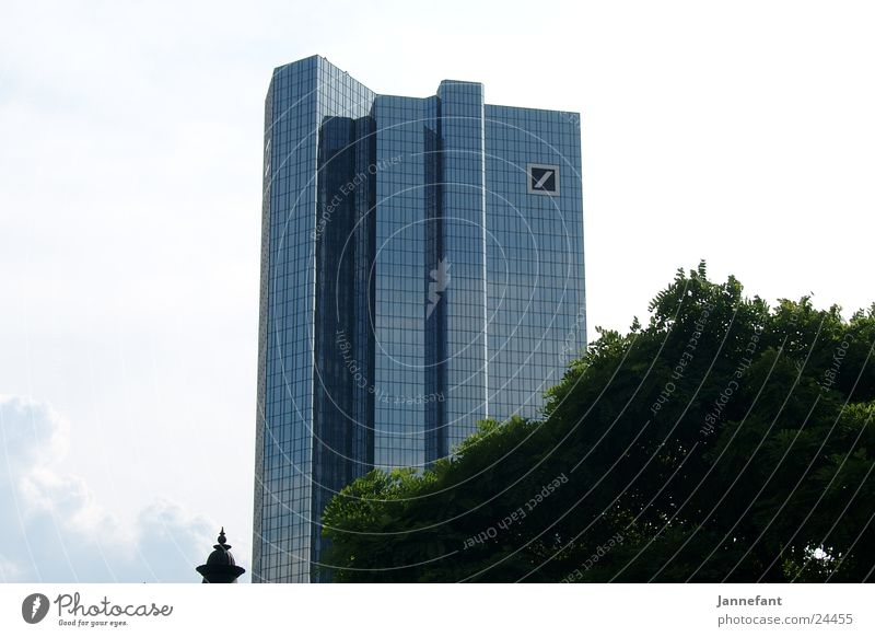 House (Residential Structure) Architecture High-rise Skyline Frankfurt